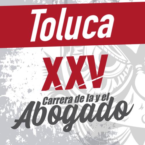 XXV Carrera de la y el Abogado TOLUCA